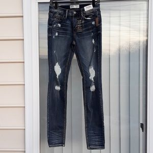 8ceb360bfde84 Mudd Bottoms   Plus Size Girls Embroidered Knit Skinny Jeans   Poshmark